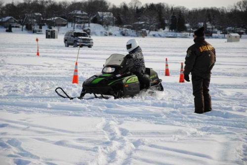 Snowmobile Course