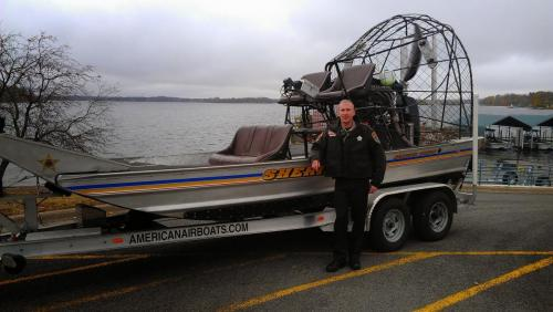SD Keller and Airboat